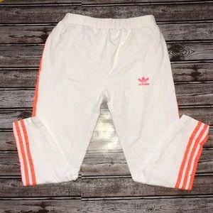 Adidas 3Stripe Cotton Slim Ankle Pants